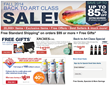 Jerry's Artarama Online Fall Back to Class Art Supply Sale 2014