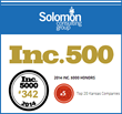 Solomon Consulting Group Named to Inc. 500 List of Fastest Growing...