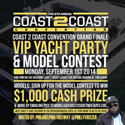 VIP Yacht Party with Freeway
