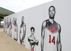 Life-size Photo Wall