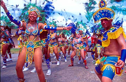A village September celebration in Belize