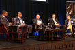Tirrell Whittley, CEO of Liquid Soul; Charles Way, NFL VP of Player Engagement; Albert Oh, Founder of iQ License; Adam Elegant, Director of KKR Global Private Equity Firm; Dr. David Martin, M-Cam CEO