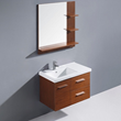 Moderna Trio 31 Inch Single Bathroom Vanity With Mirror VG09033118K From Vigo Industries
