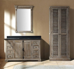 Providence 60 Double Bathroom Vanity With Cabinet 238-105-5611 From James Martin Furniture