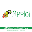Apploi - Million4Christmas - Sticker