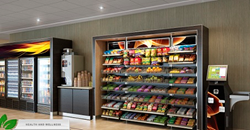 Micro markets and contemporary cafes powered by digital menu boards