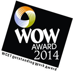 WCET Outstanding Work Award 2014