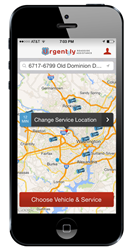 Urgent.ly Roadside Assistance App for iPhone