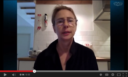 Lionel Shriver records video in support of Mesothelioma Awareness Day