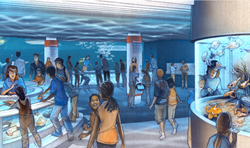 National Aquarium - Living Seashore rendering