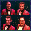 "Cast members of ""Forever Plaid"" at the Grand Theatre."