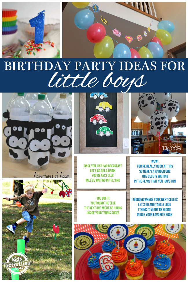 Awesome Birthday Ideas For Boys Have Been Released On Kids Activities Blog