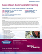 Spirax Sarco's Basic Steam Boiler Operator Training Course Is...