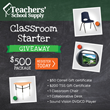 Teachers' School Supply Gives Away $500 in Classroom Furniture and...