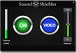 The easy to use SoundShielder user interface.  Finally, one volume for everything!