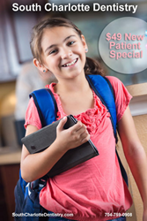 South Charlotte Dentistry Back To School Special