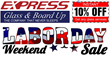 Miami Glass Repair Coupons for Labor Day Announced by Express Glass...