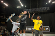 Monster Energy's Nyjah Huston first and Ishod Wair third - SLS Supercrown Finals - Newark, NJ