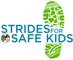 Strides for Safe Kids Logo