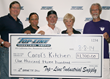 Check presentation from Top-Line Industrial Supply to Carol's Kitchen