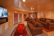 Each of the large Pigeon Forge cabin rentals found on Large Cabin Rentals' inventory come equipped with spacious home theater rooms and gorgeous mountain views.