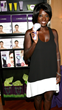 Viola Davis Attends the Michael Todd True Organics Booth