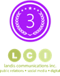 PR Company - Landis Communications - Awarded as #3 Agency by 10 Best...