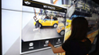 Strada have integrated kinect, touch screen and mobile technology to create an interactive experience at the BMW Driving Center in South Korea