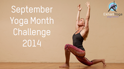 Yoga Month Challenge with Ekhart Yoga