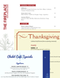 iMenuPro Holiday Menu Designs