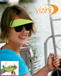 Vizini strapless sun visors slip onto your sunglasses