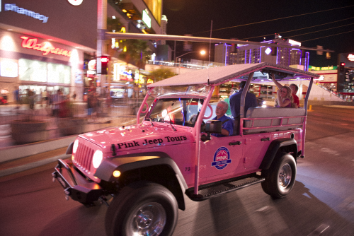 Pink Jeep Tours Launches New Las Vegas City Tour