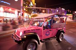 Pink Jeep Tours Bright City Lights Tour