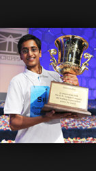 Scripps National Spelling Bee Co-Champion and Aspiring...
