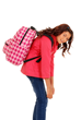 Backpacks that are too heavy or worn incorrectly can cause serious back, neck and shoulder pain, and also cause children to lose their balance and fall