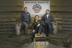 The Guys from Rusty Nickel Brewing Company