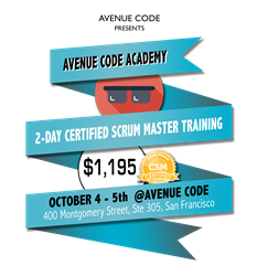 2-day Certified Scrum Training class