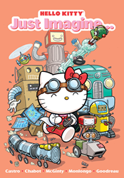 HELLO KITTY: JUST IMAGINE, the newest original graphic novel starring Hello Kitty, is now available!