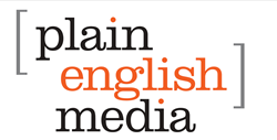Plain-English Media Logo