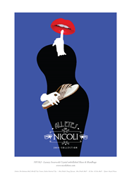 All Eyes on NICOLI Campaign. NICOLI - The luxury crystal embellished shoe and handbag brand - shop online at www.nicolishoes.com