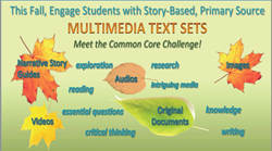 Fall Teacher Gift -- Multimedia Text Sets