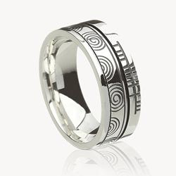 Irish wedding ring, Celtic Wedding Ring, modern Irish wedding ring, modern celtic wedding ring, Celtic Promise, Irish jewelry