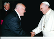 Tim Timmons Meets With Pope Francis and His Leadership Team at the...
