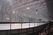 LO/MIT IRCCS Spray-applied to underside of steel roof decking and trusses of Montreal Canadiens' ice hockey practice arena, the Complexe Sportif Bell.