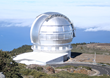Gran Telescopio Canarias, a high-performance 10.4 meter telescope with a segmented primary mirror - LO/MIT coated. Located on La Palma, Canary Islands, SPAIN.