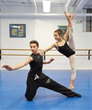D'Valda & Sirico Students Alex Gwartz and Jenna Rotondo Practicing For Upcoming Performance