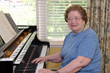 Allerton House at Weymouth resident Trudy Martell, former director of the popular musical group, Belles and Beaux, says she enjoys music and life at assisted living community in Weymouth, MA.