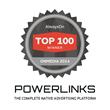 PowerLinks Selected by AlwaysOn as an OnMedia Top 100 Winner