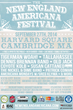 The 5th Annual New England Americana Festival Takes Place Friday and Saturday, September 26th and 27th, in Harvard Square; the Event Is Open to the Public at No Cost