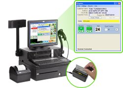 Point of Sale ID Scanner System
